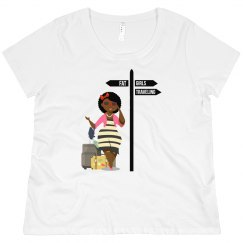 FGT Curly Girl Crew Neck
