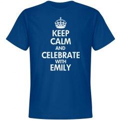 Keep Calm SoftStyle Blue