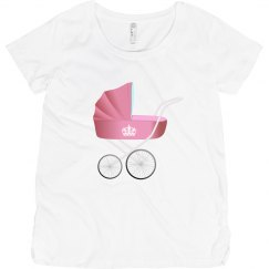 PinkVintageBabyCarriage