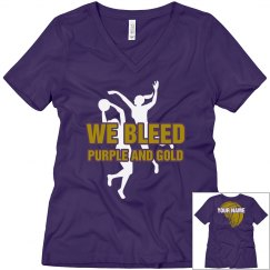 Basketball-We bleed purpl