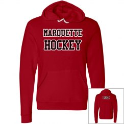 Marquette a Hockey Red Hoodie