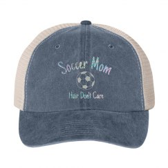Soccer mom metallic