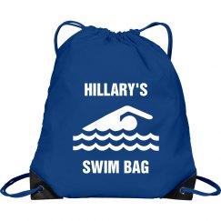 Hillary's swim  bag