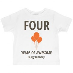 Four years of awesome