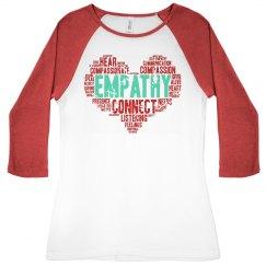 Empathy 3 tee