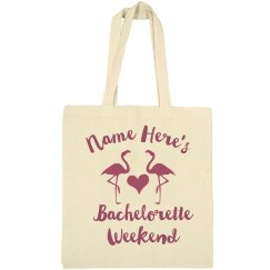 Personalized Bachelorette Weekend Beach Bag