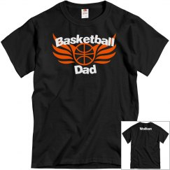 Bball dad personalized