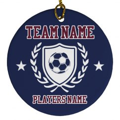 Custom Soccer Player Gift