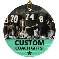 Custom Coach's Photo Gift