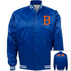 B Baseball Bomber Jacket