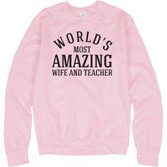 Wife and teacher