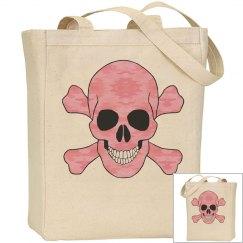 Pink Camouflage Skull Bag
