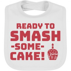 Ready To Smash Cake!