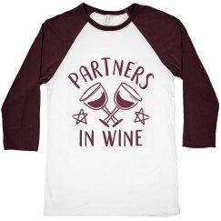 Partners In Wine Drinking Buddies
