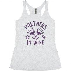 Matching Best Friends Love Wine