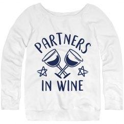 Partners In Wine Night Best Friends