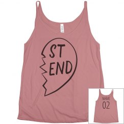 Customizable Name Best Friends Tank