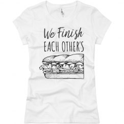 Funny Finish Each Others Sandwiches