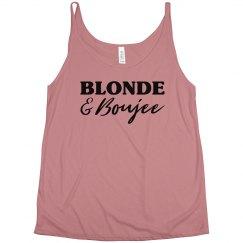 Blonde & Brunette Boujee Besties