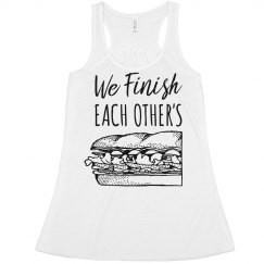 Cute Sandwich Best Friend Crops
