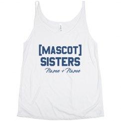 Custom Mascot Sisters Tank