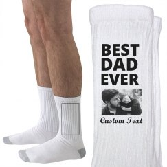 Custom Photo Best Dad Ever