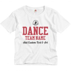 Create Your Own Dance Team Shirts