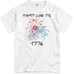 Fourth of July PARTY LIKE IT'S 1776 shirt