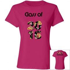 2017 Graduate Hot Pink Shirt