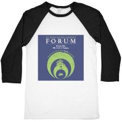 Unisex National Leadership Forum 3/4 Sleeve Shirt