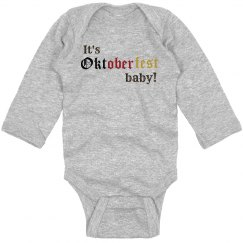 It's Oktoberfest baby!