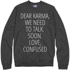 What Up Karma?