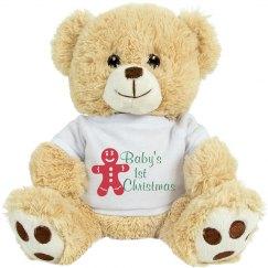 Baby's 1st Christmas Bear