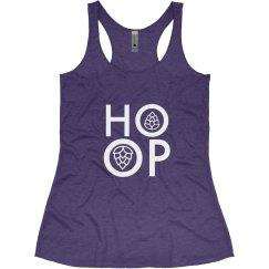 HOOP tank purple