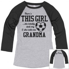 Custom Grandma Soccer Fan