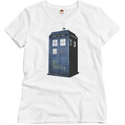 Misses SuperWhoLock Shirt