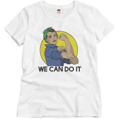 We can do it rosie rivete