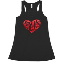 5678 Heart - ladies