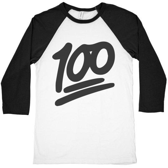 85883df3 Keep It 100 Unisex 3/4 Sleeve Raglan T-Shirt