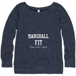 SSP FIT Off Shoulder Sweatshirt