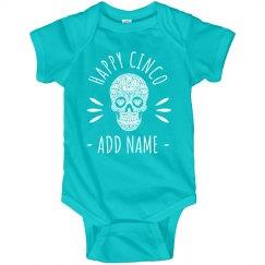 Happy Cinco de Mayo Add Baby Name
