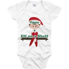 Elf on a Shelf Onesie