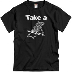 Take a Seat Tee, Black