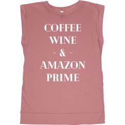 I Run on Coffee & Wine