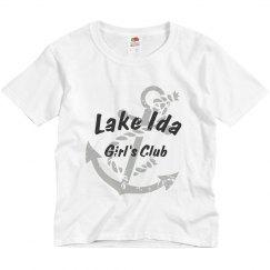 Lake Ida Girls tee