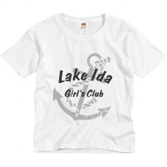 Lake Ida Girls tee