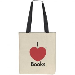 I Love Books tote