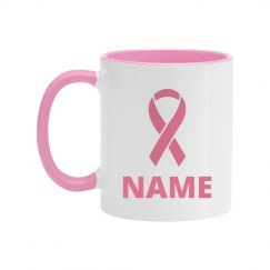 Custom Breast Cancer Survivor Mug