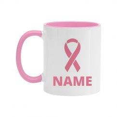 Custom Breast Cancer Survivor Mug