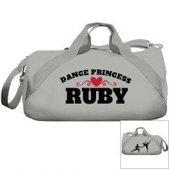 Ruby, dance princess